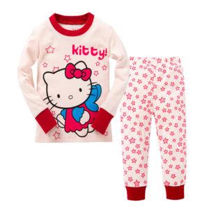 Детская одежда оптом без рядов Россия, Китай, Узбекистан, Америка, Турция  - PJ133-kitty-Pizhama-dlya-devochek-novinka-300x300.jpg