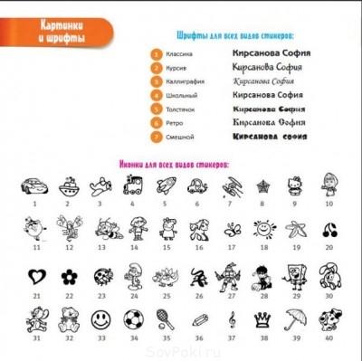 Детские именные стикеры - очень актуально в детс.лагерь, сад - Копия 6p.JPG