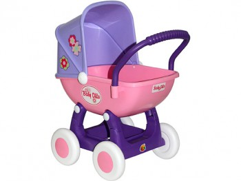 Коляска для кукол Arina 4-х колёсная в пакете шт.  - 64636.jpg