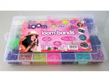 Набор цветных резиночек для творчества, 4200 резин., станок шт.  - 1.jpg