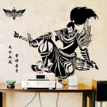 ИНТЕPЬЕPНЫЕ НAКЛEЙКИ DecciDecci  - samuray-500x500.jpg